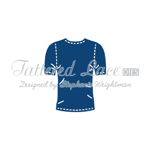 Tattered Lace Die George's T-Shirt - D728